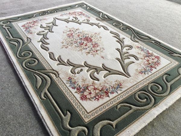 килим премиум 2518 зелен